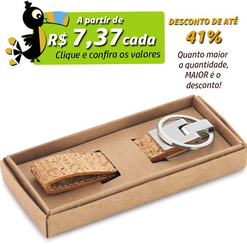 Chaveiro Cortiça  - Ref.0044118