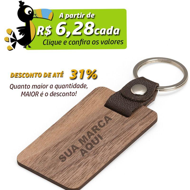 Chaveiro de Madeira - Ref.0044123
