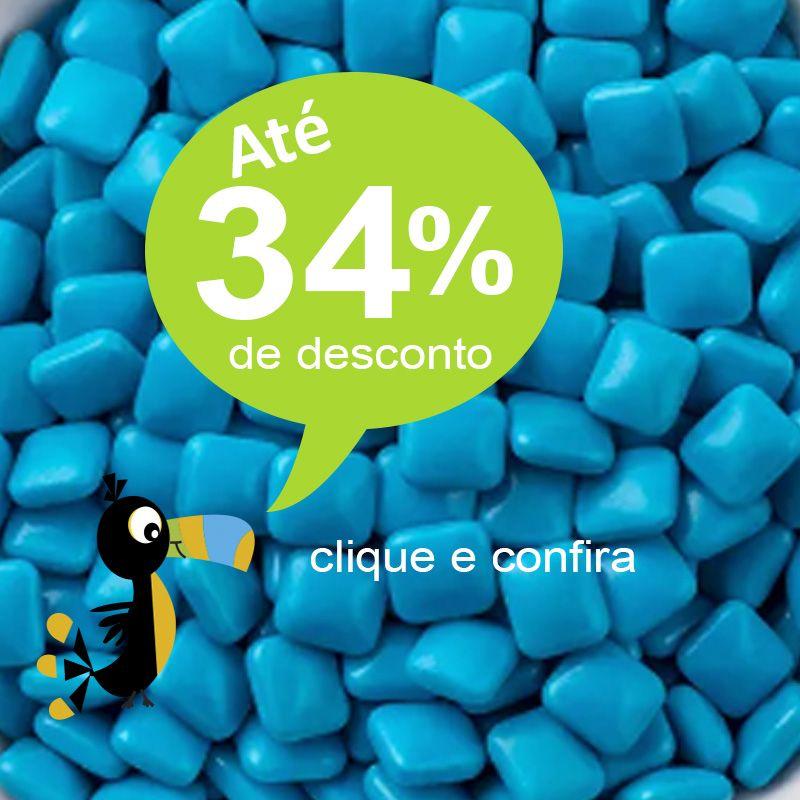 MIni Chicletes NA LATA Branca 7X2 - REF.0014996