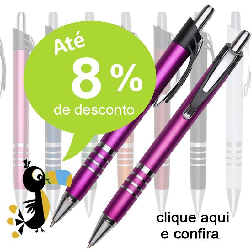 Goiânia - Caneta Plástica - Ref.0028025