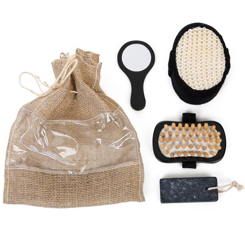 Kit Banho Ecológico 4 Peças - Ref.0014067