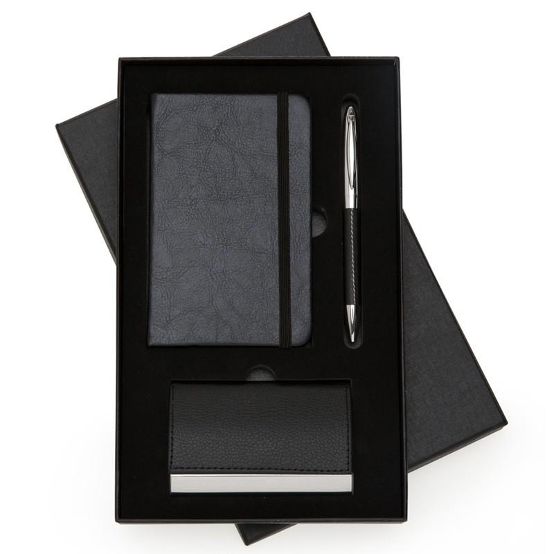 Kit Executivo 3 peças no estojo preto - Ref.0029130