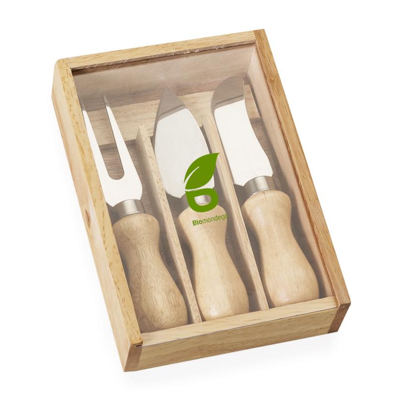 Kit Queijo 3 peças no Estojo Ref.0014046