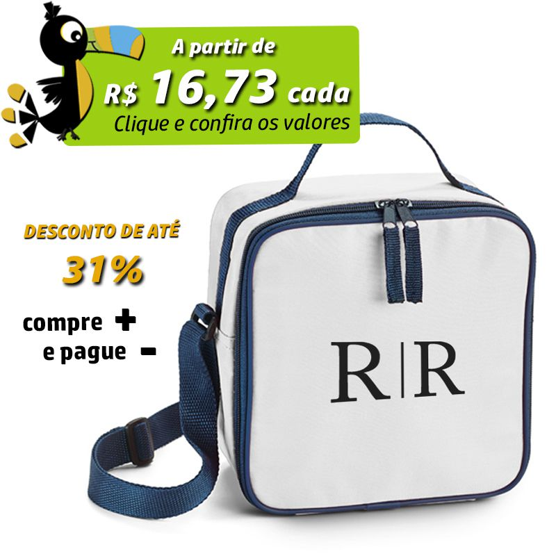 Lancheira Bolsa Térmica Colorida - REF.0020101