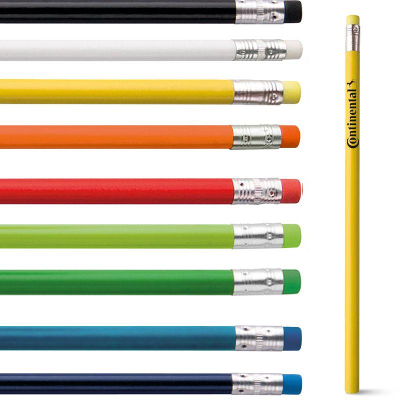 Lápis com Borracha Grafite Colorido - Ref.0029177 - A partir de