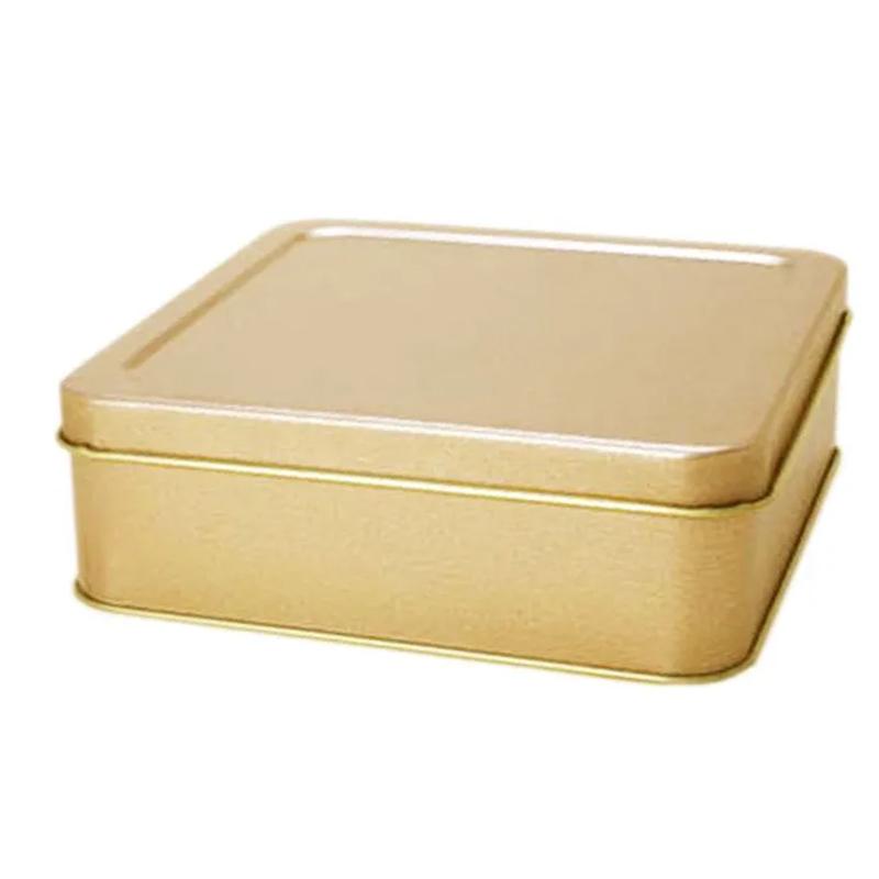 Lata 15,4 x 15,4 - Altura 5,1cm - Dourada - REF.0010947 - a partir de