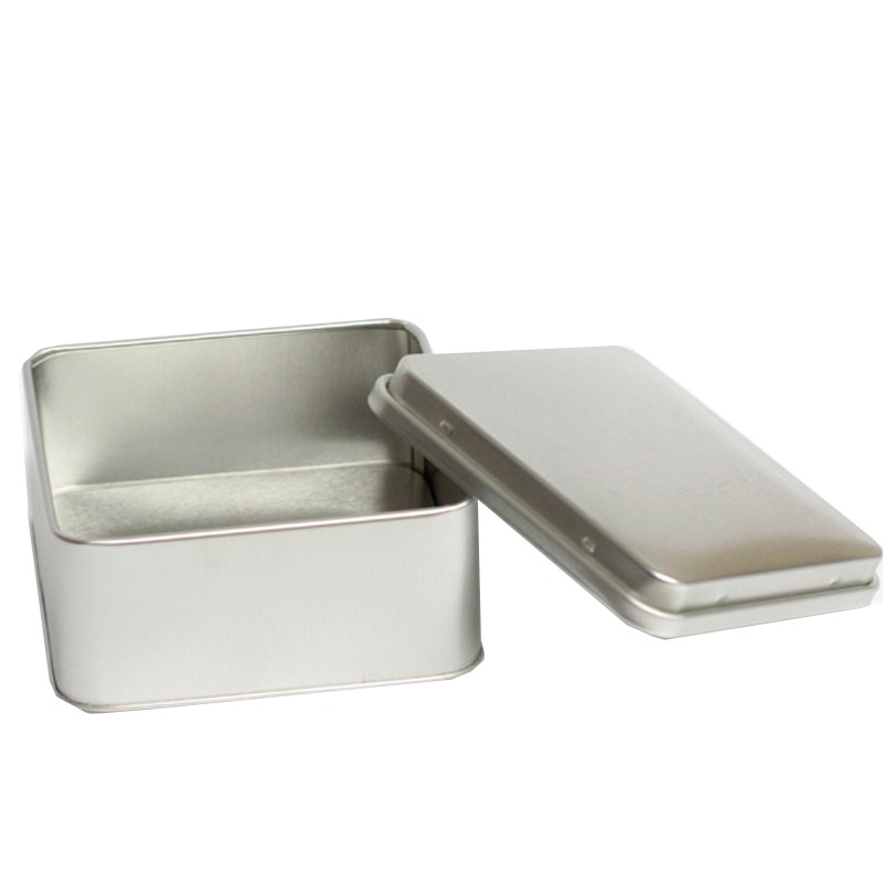 Lata 11 x 11 - Altura 5cm - Prata - REF.0010950 - A partir de