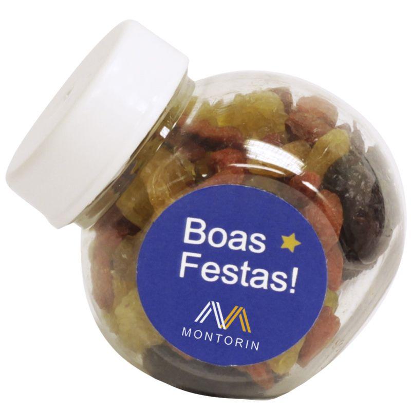 Mini Baleiro com Mix de Frutas Secas - Ref. 0014820