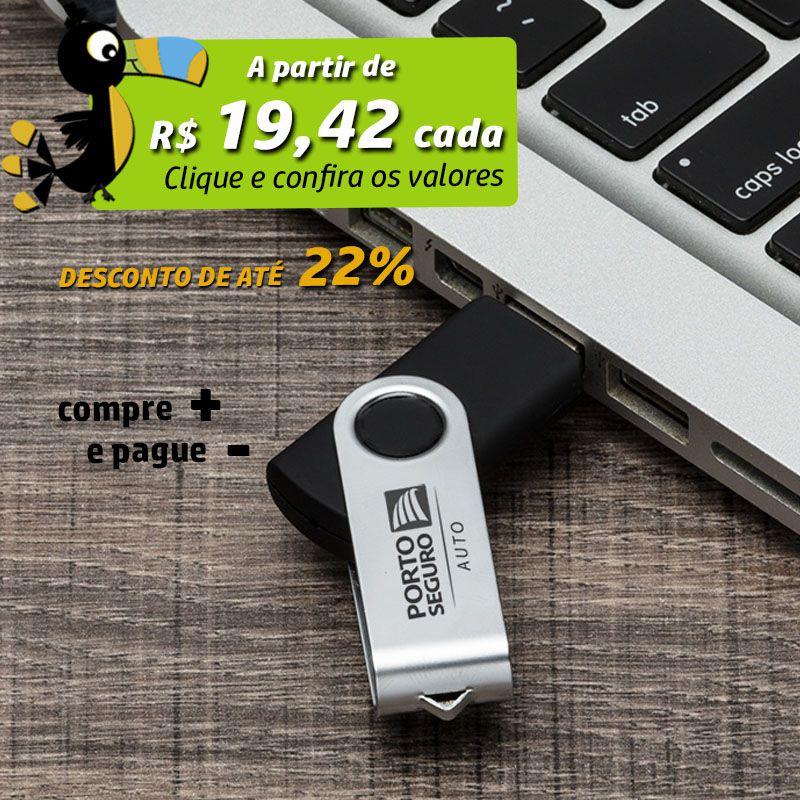 Pen Drive Giratório - Ref.0032027