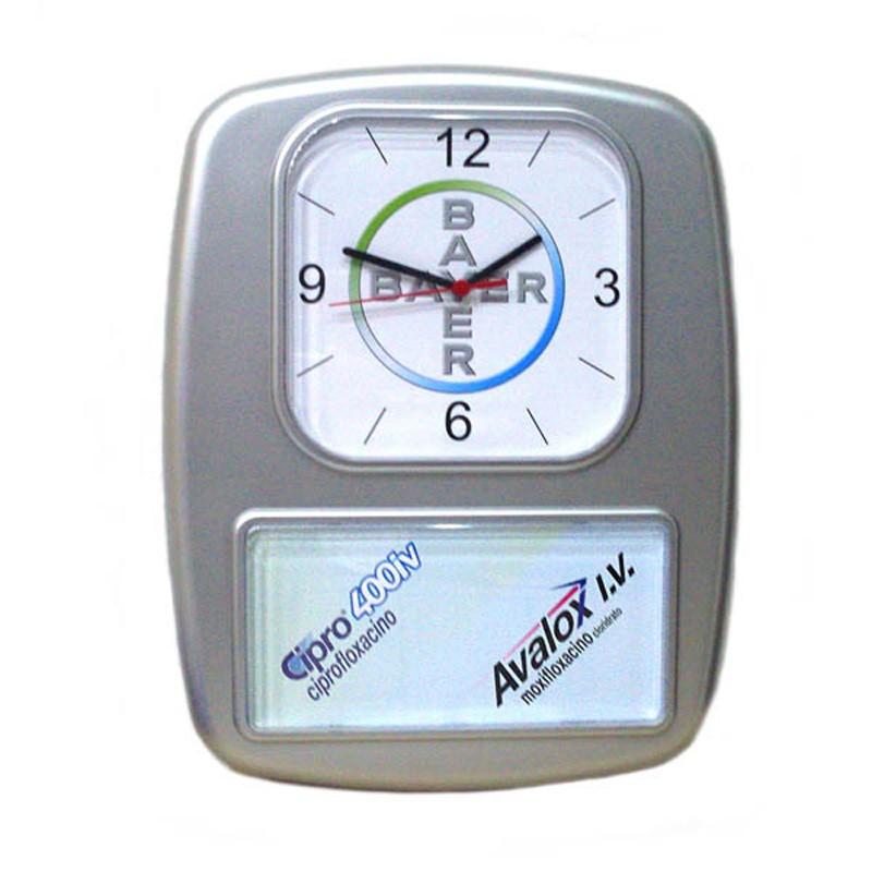 Relógio de Parede retangular Beta - Ref.0014649