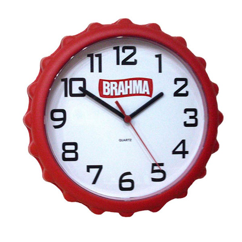 Relógio de Parede Tampa de garrafa - Ref.0014647