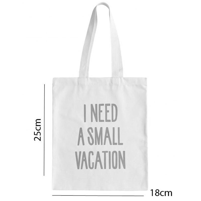 Sacola Eco Bag - Tecido Pet 18x25cm - REF.0040040