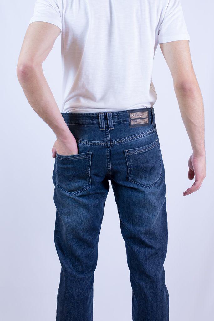 Calça Jeans Preta Feminina Destroyed Cintura Alta Rasgada