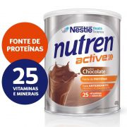 Nutren Active Chocolate - 400g - (Nestle)