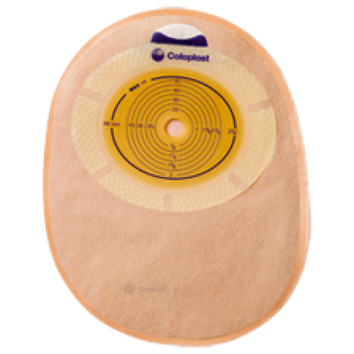 Bolsa 10-76mm Fechada Opaca Sensura 15480 - (Coloplast)