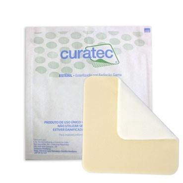 CURATEC HIDROCOLOIDE PLUS 10 X 10CM EXTRAFINO - (CURATEC)
