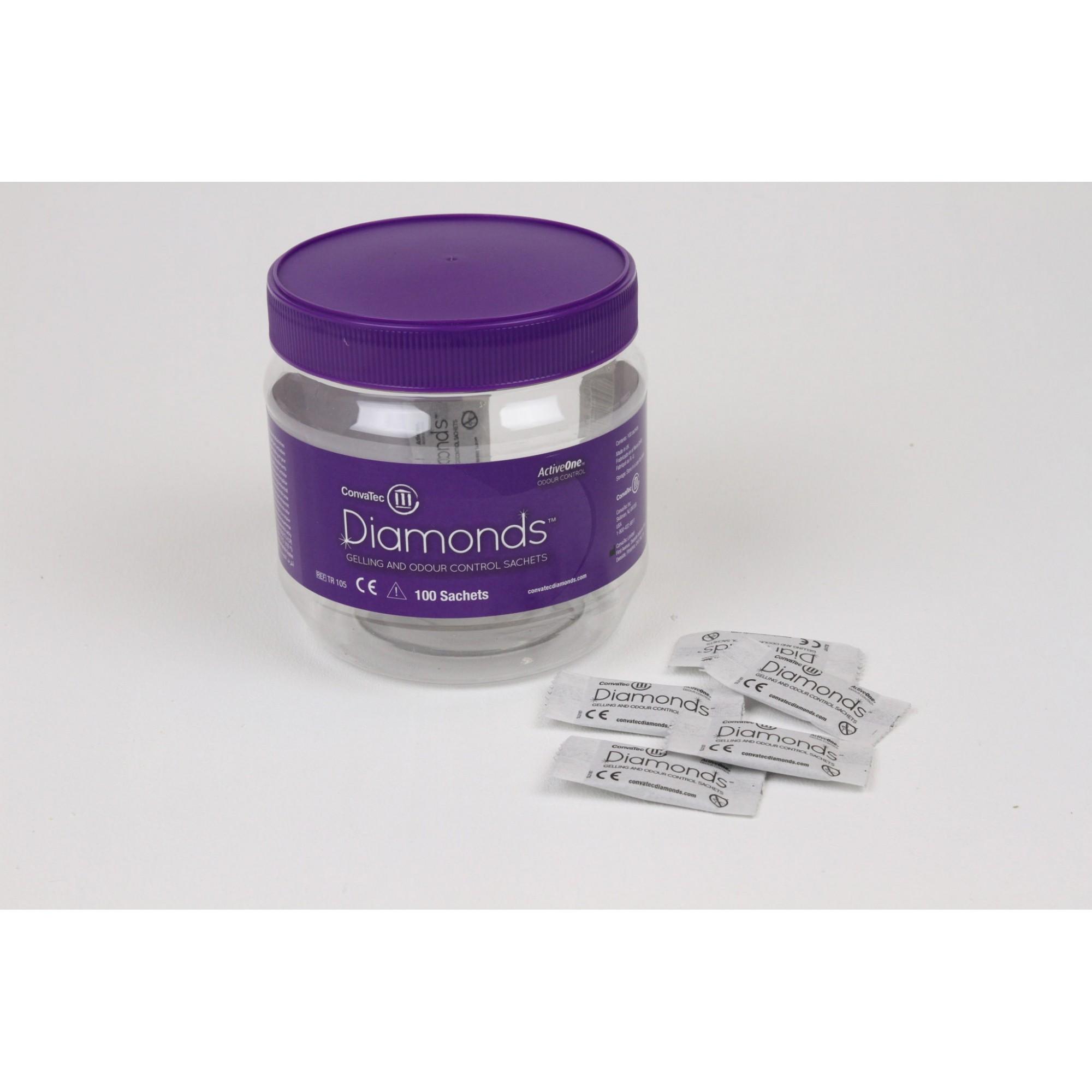 DIAMONDS GEL CONTRA ODOR 10SCH 420791/BR10273 - (Convatec)