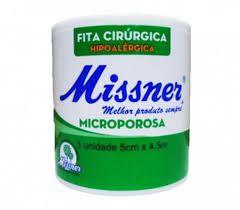 Fita Microporosa 5cm X 10m Missner - (MISSNER)