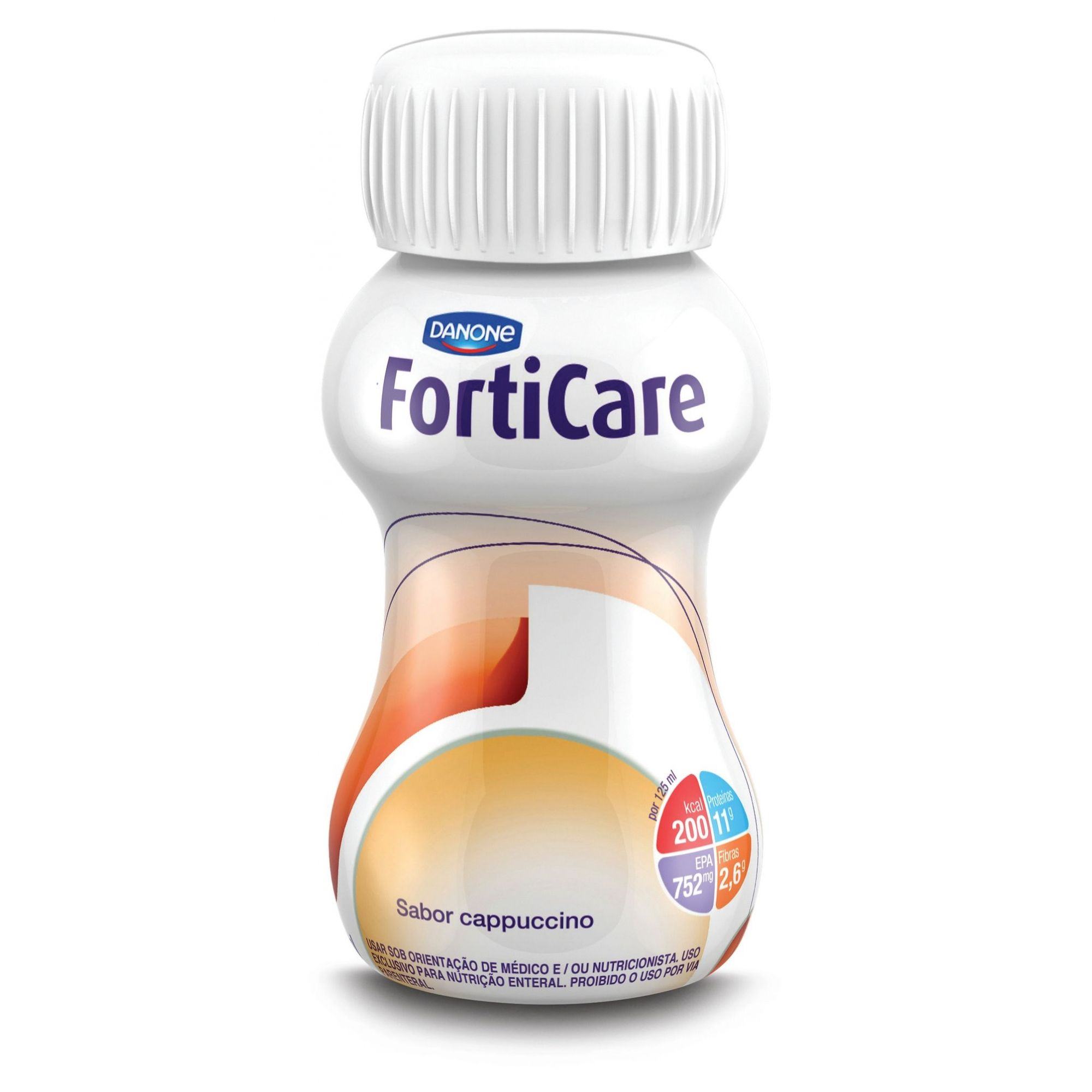 Forticare Cappuccino - 125 mL - (Danone)