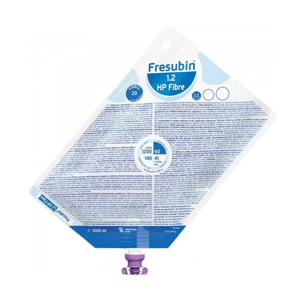 Fresubin 1.2 HP Fibre Sistema Fechado - 1 L - (Fresenius)