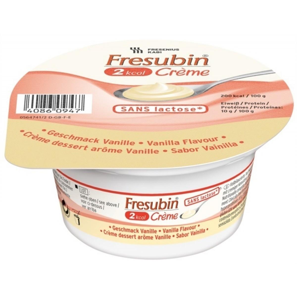 Fresubin Crème Baunilha - 125 g - (Fresenius)