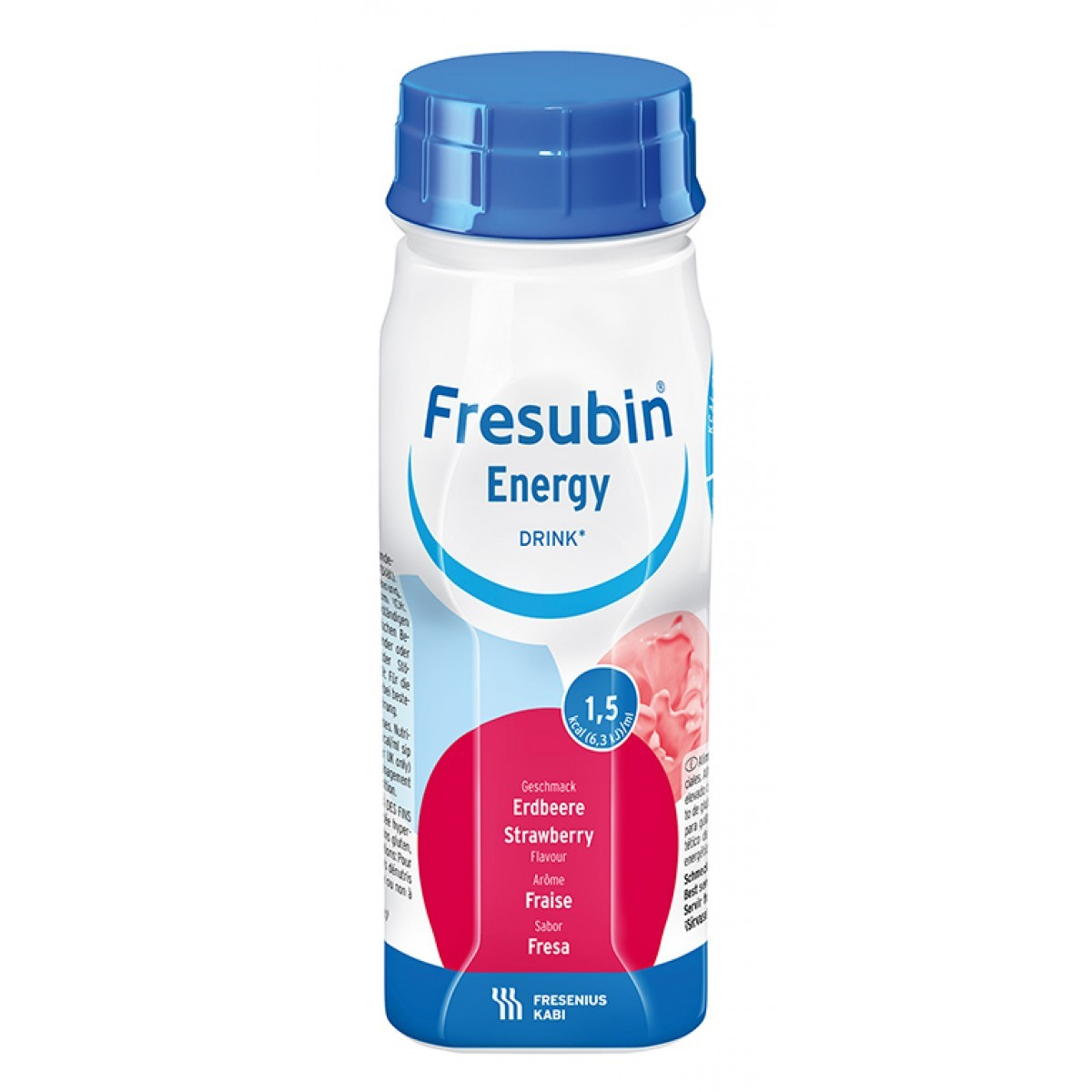 Fresubin Energy Drink Morango - 200 mL - (Fresenius)
