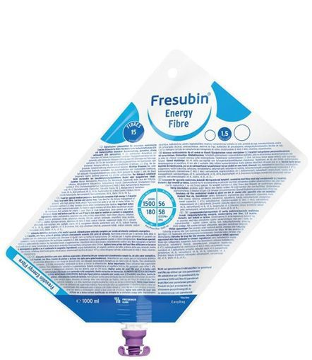 Fresubin Energy Fibre Sistema Fechado - 1 L - (Fresenius)