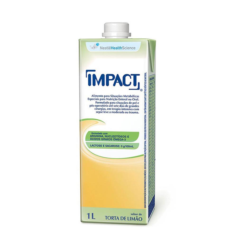 Impact Torta de Limão Tetra Square - 1 L - (NESTLE)