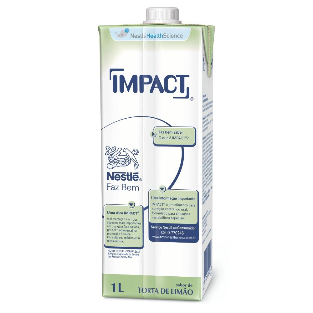 Impact Torta de Limão Tetra Square - 1L - (Nestle)