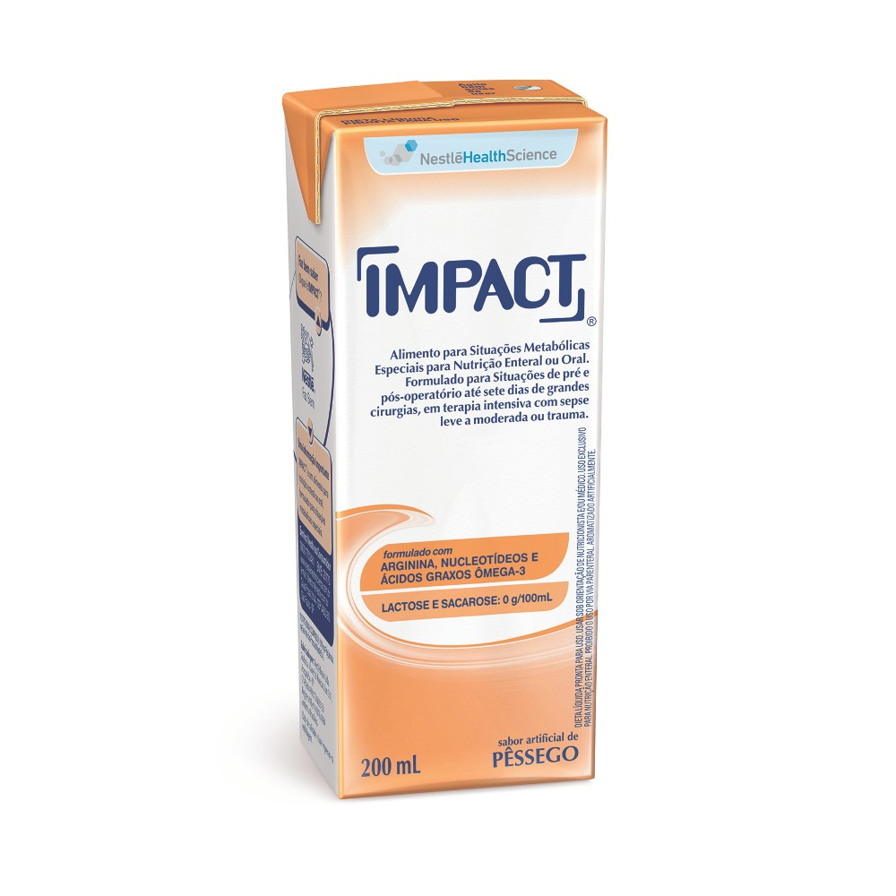 IMPACT 200ML PESSEGO - (NESTLE)