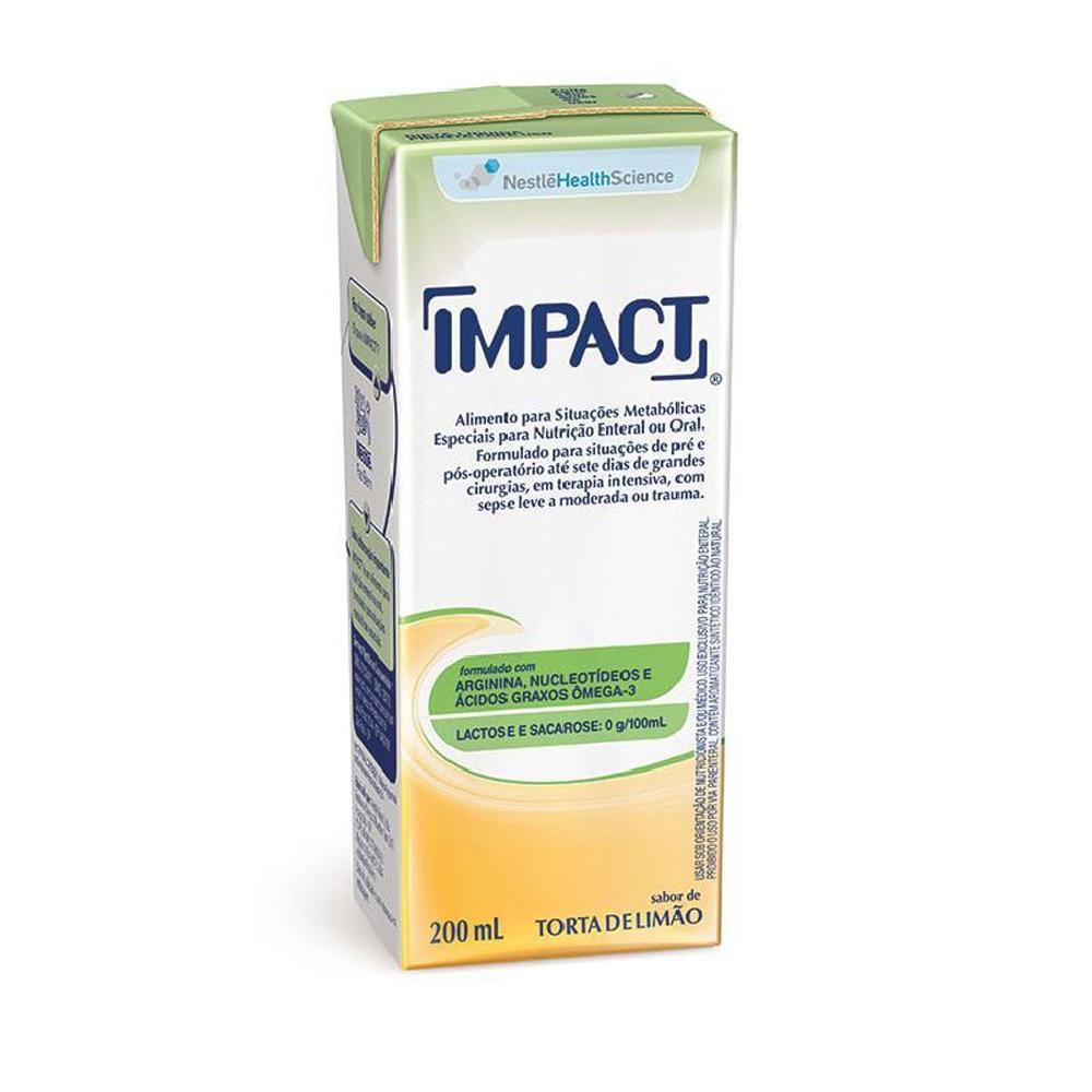Impact Torta de Limão Tetra Slim - 200 mL - (NESTLE)