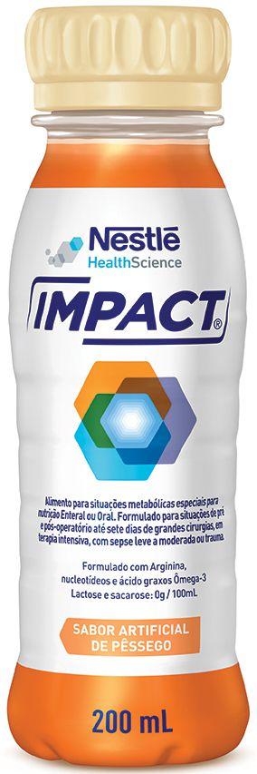 Impact Pêssego Tetra Slim - 200mL - (Nestle)