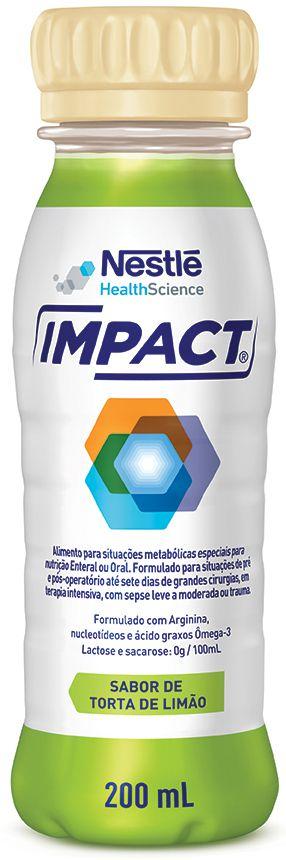 Impact Torta de Limão Tetra Slim - 200mL - (Nestle)