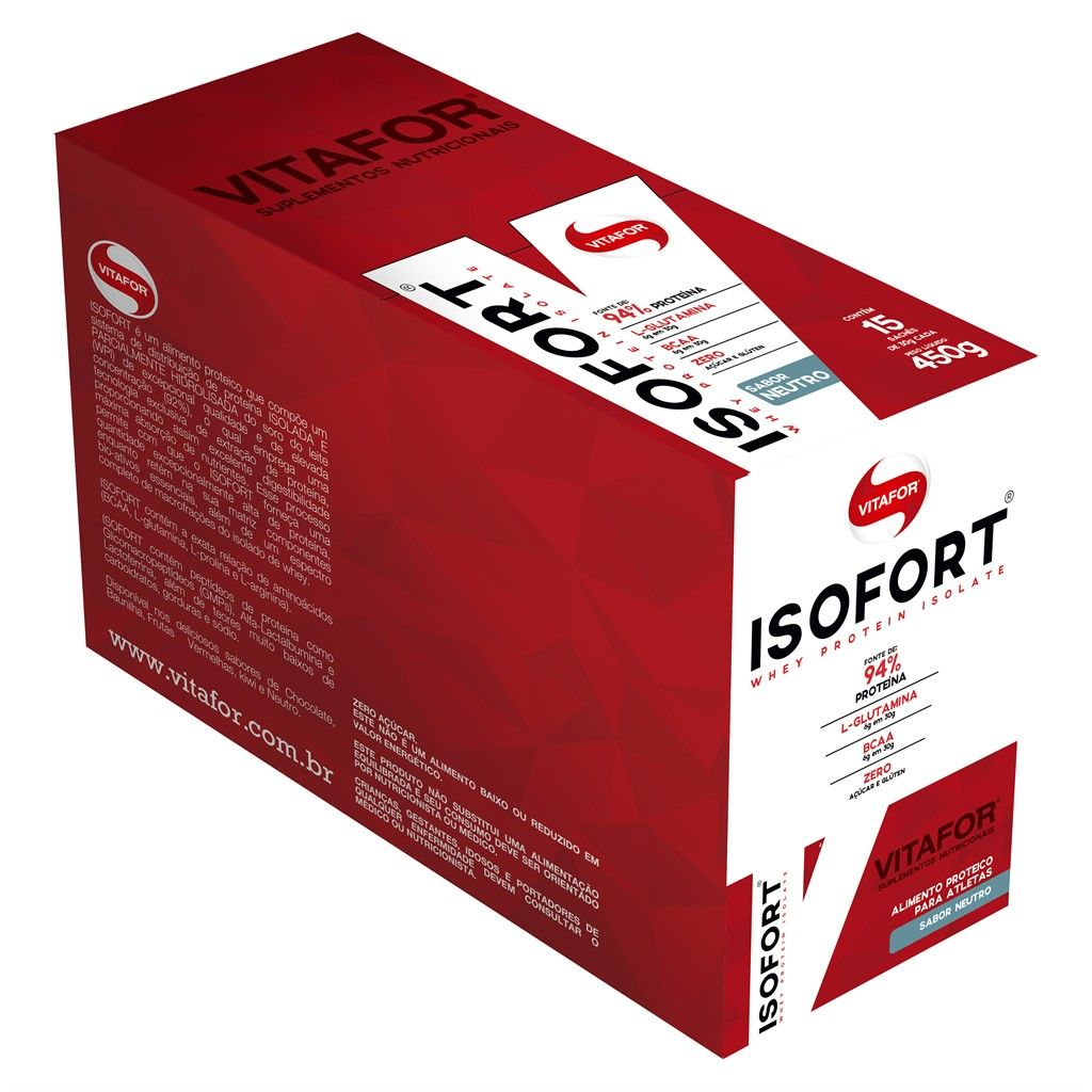 Isofort 15sch 30g Neutro - (Vitafor)