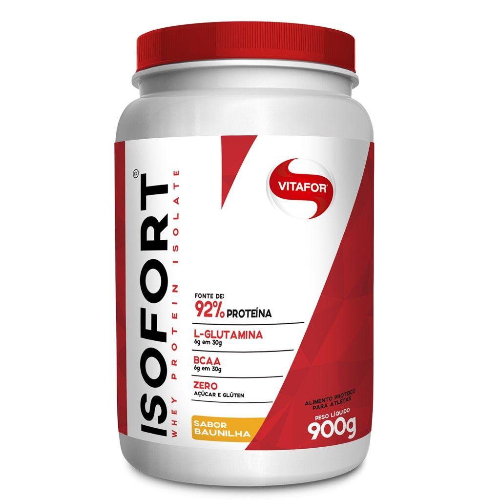 Isofort 900g Baunilha - (Vitafor)