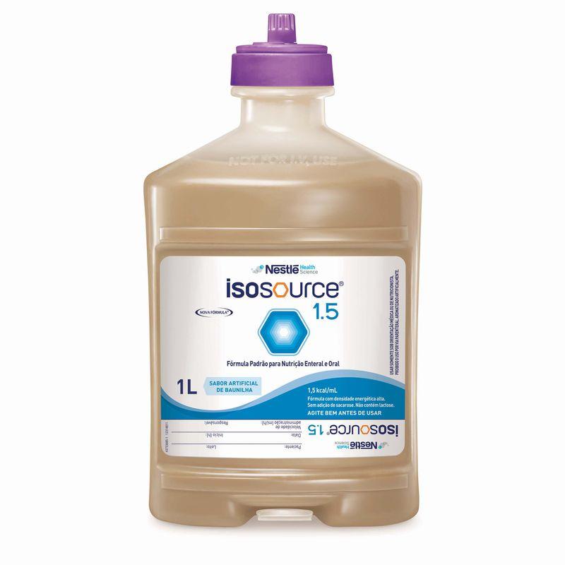 Isosource 1.5 Sistema Fechado - 1L Com Fibra - (Nestle)