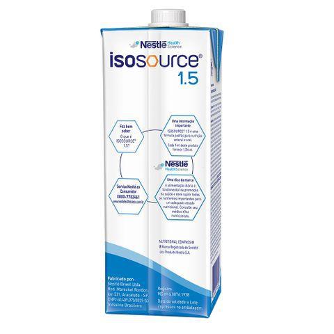 Isosource 1.5 Tetra Square - 1L - (Nestle)