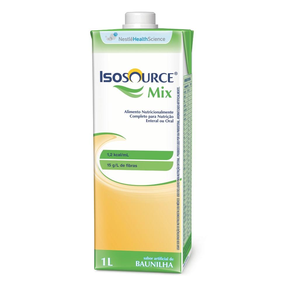 Isosource Mix Baunilha Tetra Square - 1 L - (NESTLE)