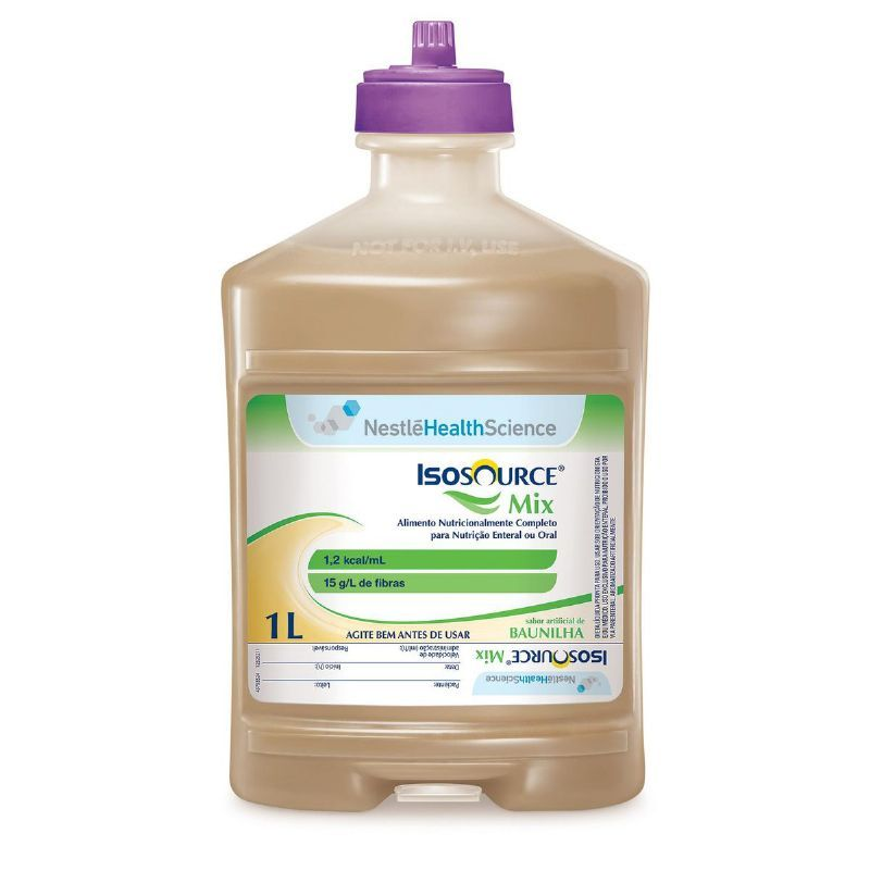 Isosource Mix Sistema Fechado - 1L - (NESTLE)