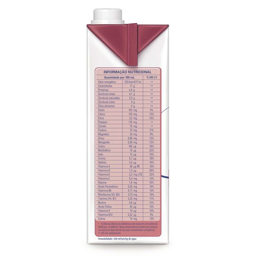 Isosource Soya Tetra Square - 1 L - (NESTLE)