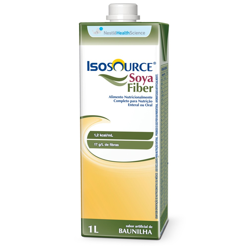 Isosource Soya Fiber Tetra Square - 1 L - (NESTLE)