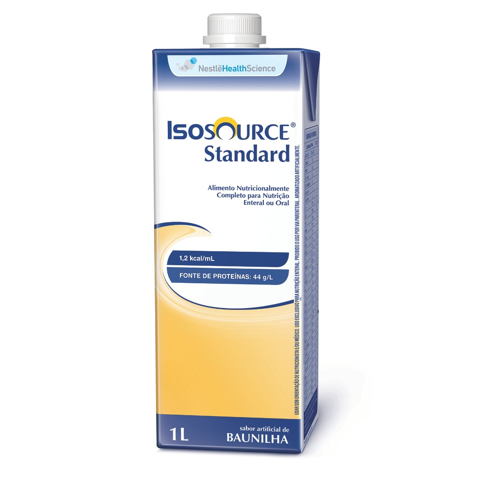 ISOSOURCE STANDARD TETRA SQUARE - 1L - (NESTLE)