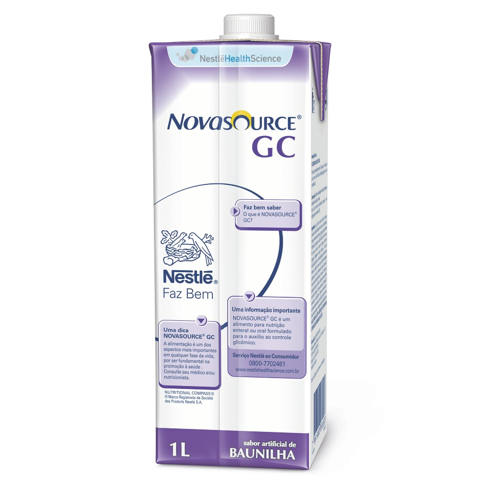 Novasource GC Baunilha Tetra Square - 1L - (Nestle)