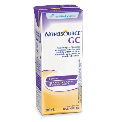 Novasource GC Baunilha Tetra Slim - 200 mL - (NESTLE)