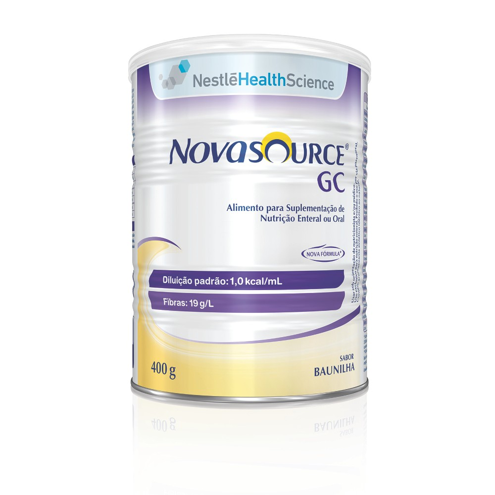 NOVASOURCE GC 400G BAUNILHA - (NESTLE)