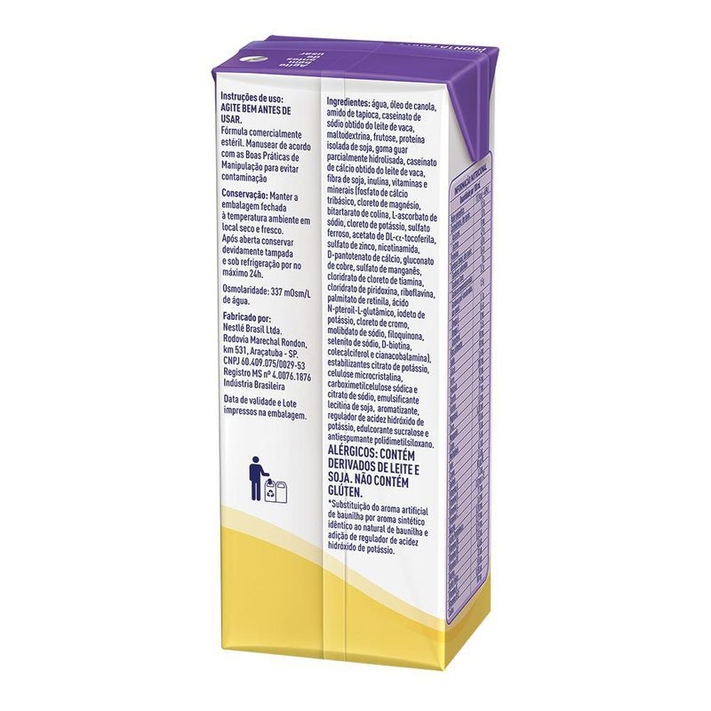 Novasource GC Baunilha Tetra Slim - 200mL - (Nestle)
