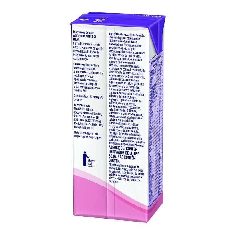 Novasource GC Morango Tetra Slim - 200mL - (Nestle)
