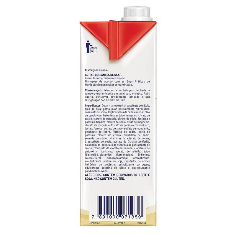 Novasource GI Control Baunilha Tetra Square - 1L - (Nestle)