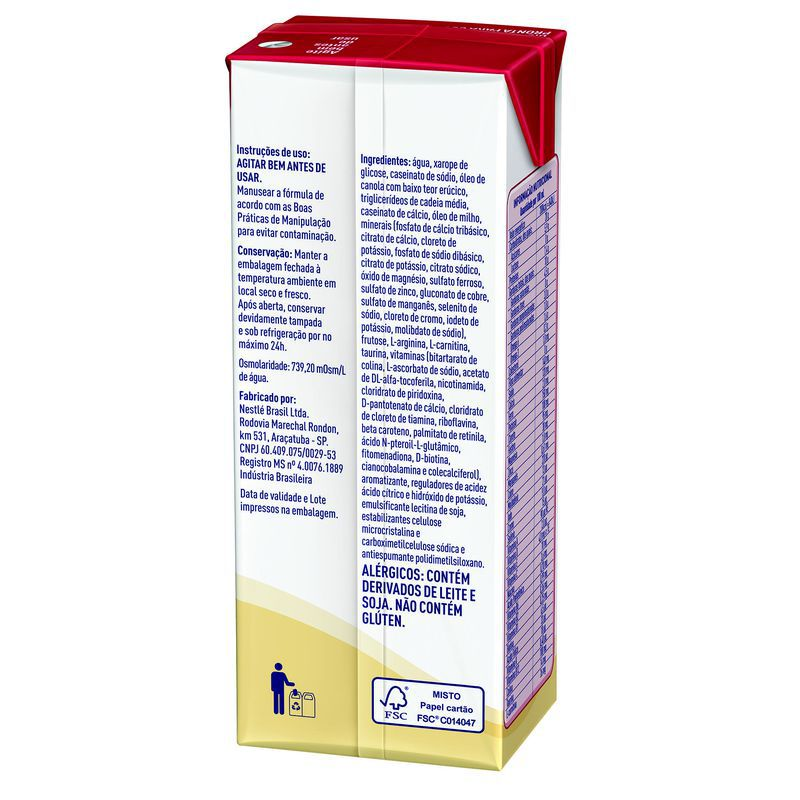 Novasource Ren Baunilha Tetra Slim - 200mL - (Nestle)