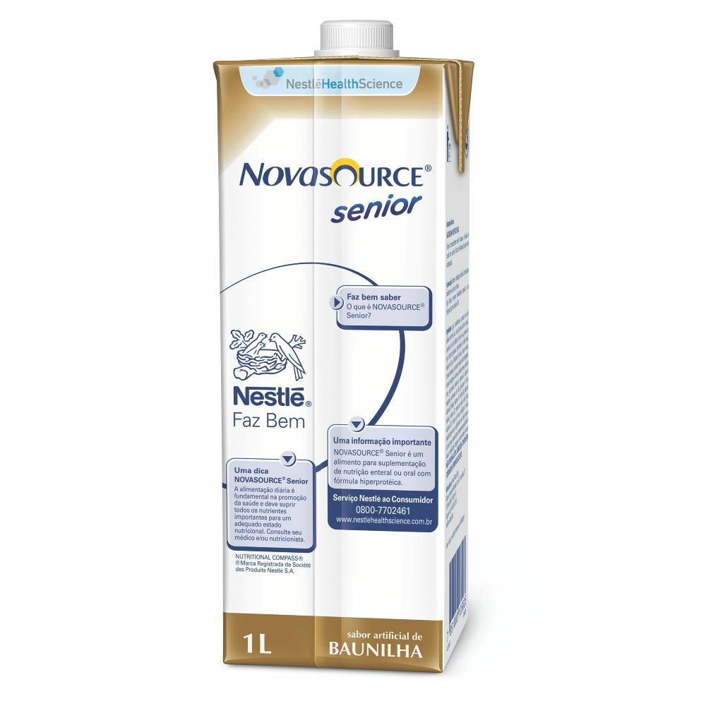 Novasource Senior Tetra Square - 1 L - (NESTLE)